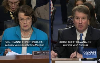 Feinstein to Kavanaugh: How Can You Reconcile Justice with an Unjust World?