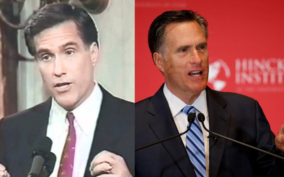 Will the Real Mitt Romney Please Stand Up?