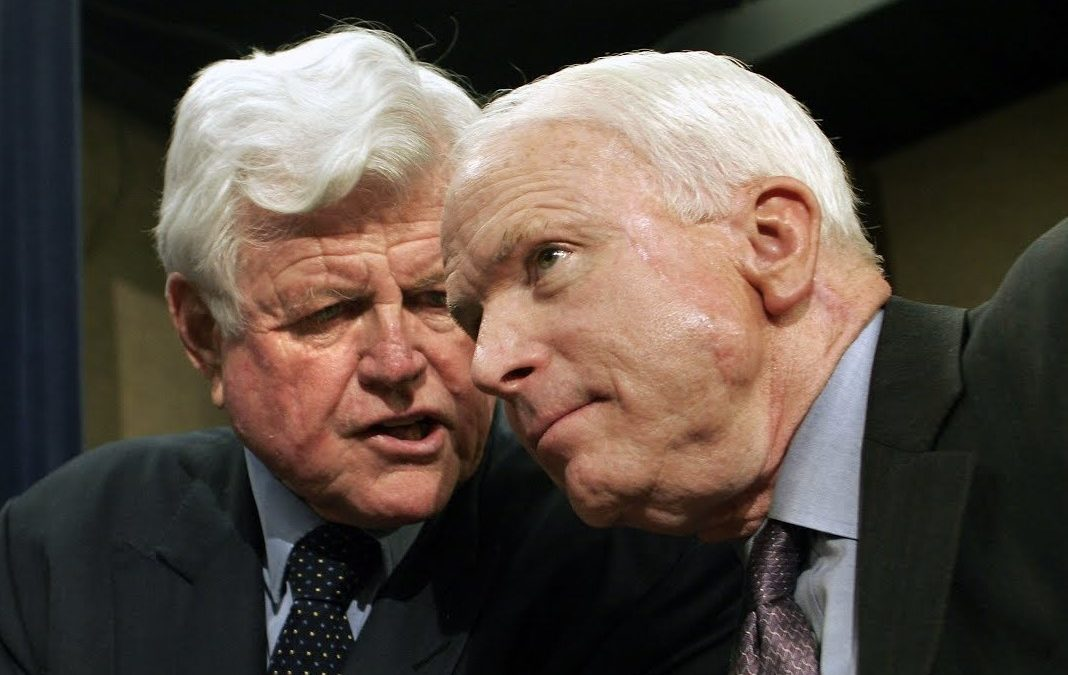 Giving John McCain the Ted Kennedy Treatment